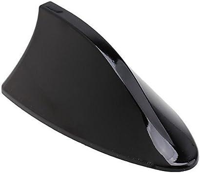 SHARK antena de aleta de tiburón techo del coche universal de radio AM FM, tuning, color negro