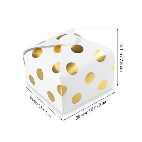 Envolturas Caja Point 300g Chocolate Caramelo Tarjeta Big Con Despedida Para Soltera 50pcs Dorado La Cumpleaños Bestoyard Boda Wave Estilo De Dulces Golden Fiesta Blanca cI0qTgyU