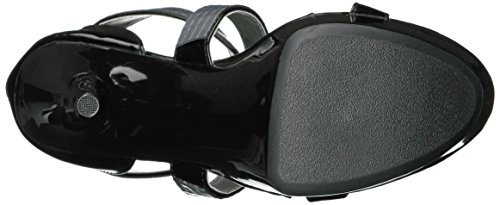 Ellie Chaussures Femmes 609-roni Robe Plate-forme Sandale Noir