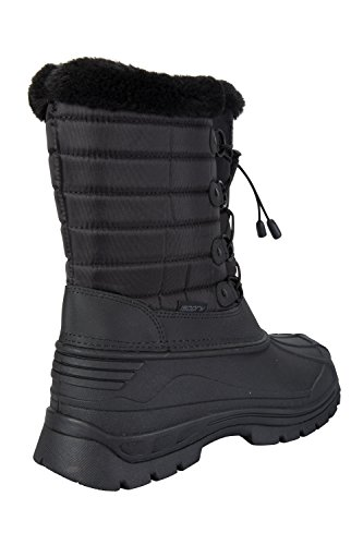 Mountain Nero Whistler Stivali Neve Donna Warehouse Doposci IsoGrip Alto 8qr8z