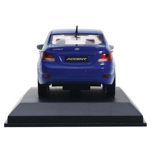 1:18 Aleación Diecast Modelo de Hyundai Elantra 2016 Azul ... |Diecast Hyundai Accent