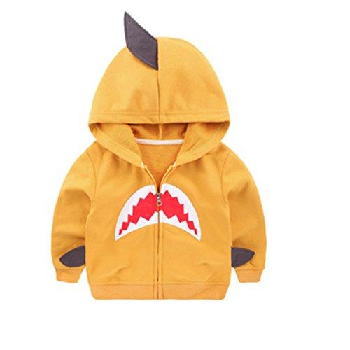Kids Shark Hoodie (Fashion Little Boys' Cute Shark Style Coat Hoody 6T)