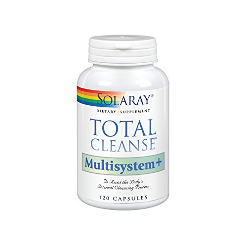 Solaray Total Cleanse Multisystem+ Capsules, 120 Count