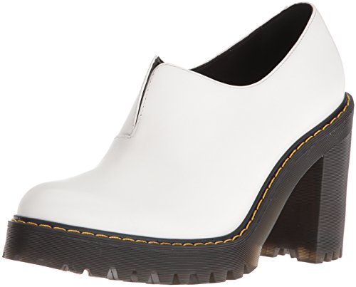 Martens Dr Bianco Shoes Polished Cordelia Leather Smooth Womens a8wqdOx8C