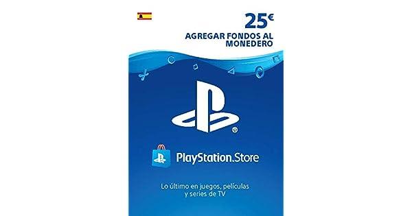 TARJETA PSN CARD 25€ | Código de descarga PSN - Cuenta ...