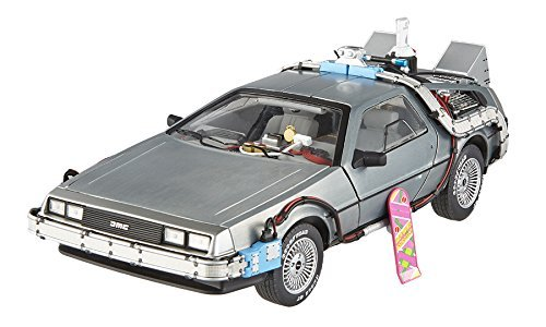 Elite Cult Classics Back To The Future Time Machine Delorean with Extras and Mr. Fusion 1/18 by Hotwheels BCJ97
