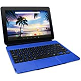 Pro12 with WiFi 12.2 2-in-1 Touchscreen Tablet with Keyboard Android 6.0 ISP 1920 x 1200 (32G, Blue)