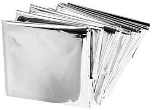Emergency Mylar Thermal Blankets Pack product image