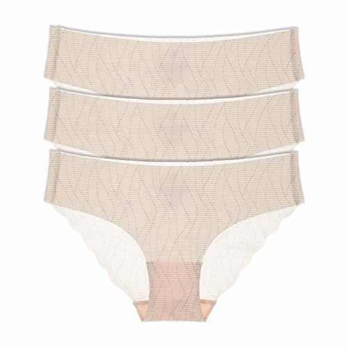 La Isla - Braguita de Talle Bajo Bikini Para Mujer, Pack de 3 Multicolor #3