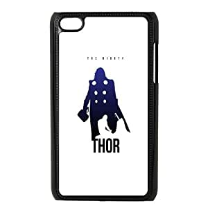 iPod Touch 4 Case Black The Avengers Thor Poster OJ515432