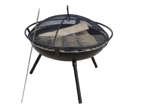 Rio Grande Wood Fire Pit Black