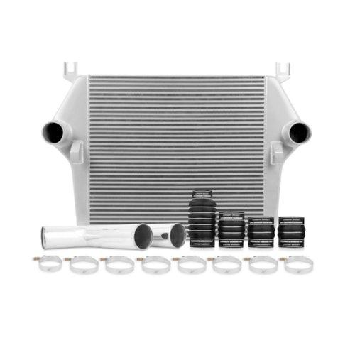 Dodge Cummins Intercooler (Mishimoto MMINT-RAM-07KSL Intercooler Kit for Dodge 6.7L Cummins)