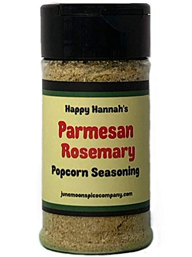 Premium | POPCORN SEASONING Variety 4 Pack | Burlap Hostess Bag Included | Cinnamon Sugar Popcorn Seasoning | Cilantro Lemon Popcorn Seasoning | Taco Tuesday | Rosemary Parmesan | 3.5 fl. oz. by June Moon Spice Company (Image #3)