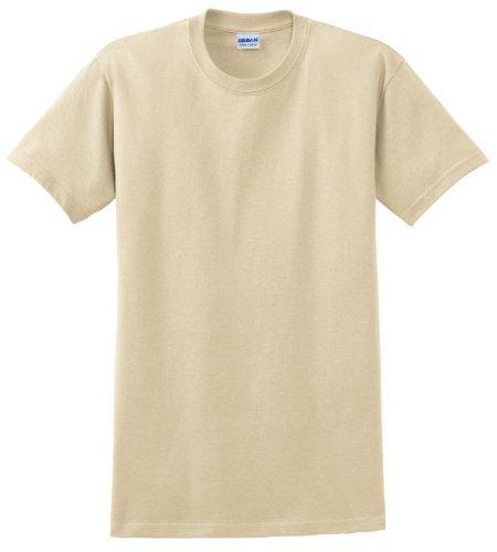 GILDAN - Camiseta - para hombre Beige - arena