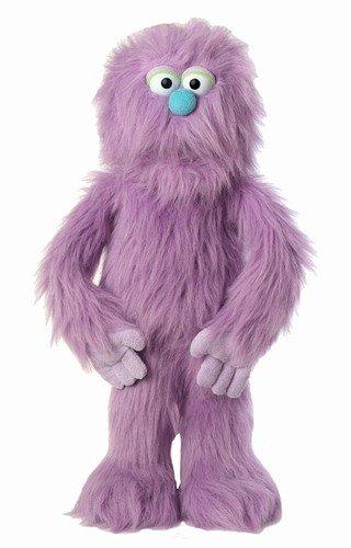 "30"" Purple Monster Puppet, Full Body Ventriloquist Style Puppet"