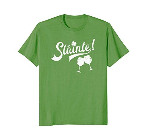 Cute St. Patrick's Day Shirt - Slainte! (Cheers! in Irish) -