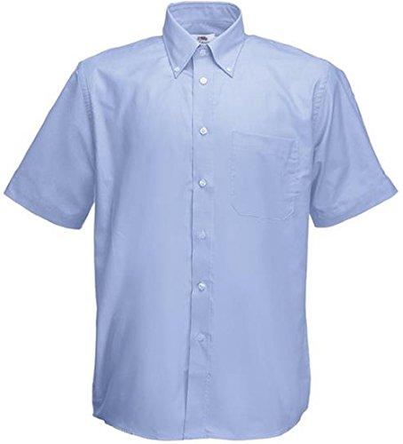 Absab Oxford de Ltd Camisa azul Hombre negocios rWwrFq14