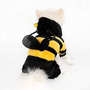 InnoPet Halloween Pet Costume Dog Clothes,Hoodie Coat for Small Dogs and Cats,pet Warm Apparel,Cute Dog Outfits,pet…