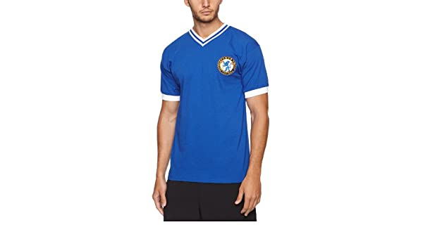 Amazon.com : Score Draw Official Retro Chelsea 1960 Number 8 Mens Retro Football Shirt - : Sports & Outdoors