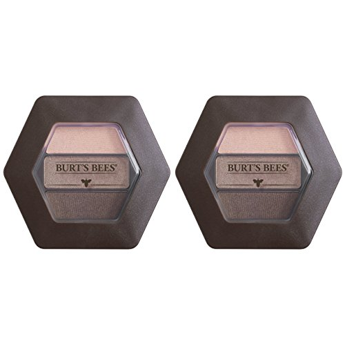 - Burt's Bees 100% Natural Origin Eye Shadow Palette Trio Shimmering Nudes - 0.12 Ounce (Pack of 2)