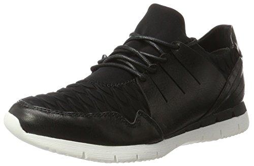 Marco Tozzi 23713, Zapatillas para Mujer Negro (Black Str.comb)
