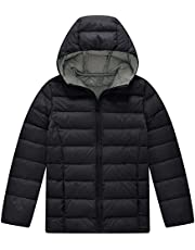 Wantdo Girl's and Boy's Packable Lightweight Puffer Down Jacket with Hood