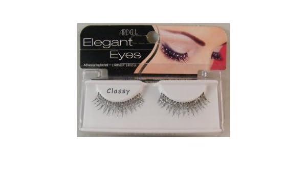 ffa643b7ef4 Amazon.com : Ardell Elegant Eyes Glittered Eyelashes (Classy) 1 Pair (2  Pack) : Fake Eyelashes And Adhesives : Beauty