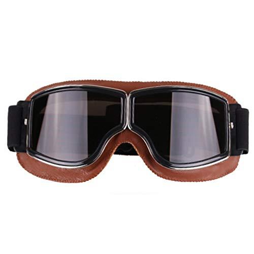 lydbd Gafas Harley, Gafas De Moto, Gafas De Esquí De Fondo, Gafas Deportivas Retro para Exteriores