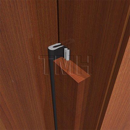 TMH  Q  Foam Kerf Weather Stripping Full Set - 36  x 84  Door (Black) - - Amazon.com & TMH