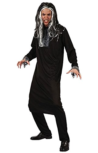 Psycho Adult Halloween Scary Costume Mens 90s Horror Halloween Fancy Dress Party#(Adult Psycho Costume HAL0298#Mens)