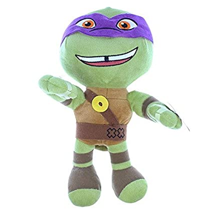 Teenage Mutant Ninja Turtles - Donatello Peluche Lila 24 cm ...