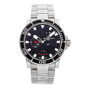 Ulysse Nardin Acqua Perpetual Calendar Mechanical (Automatic) Black Dial Mens Watch 333-55
