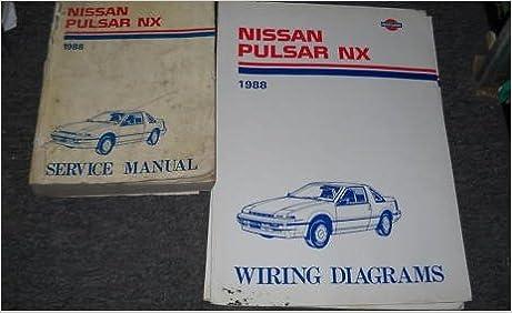 1988 Nissan Pulsar Nx Service Shop Repair Manual Set Service Manual And The Wiring Diagrams Manual Nissan Corporation Amazon Com Books