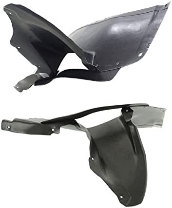 Koolzap For 06-09 VW Rabbit /& GTI Front Splash Shield Inner Fender Liner Right Left PAIR SET