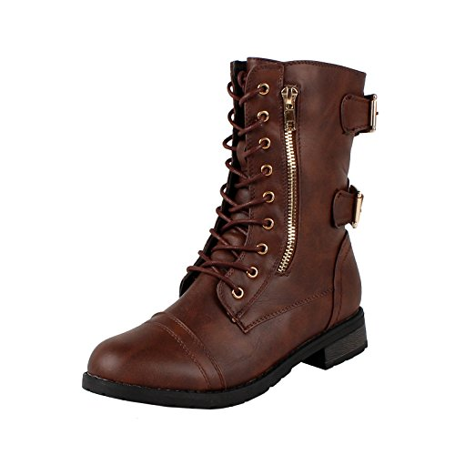 GUILTY SHOES – Combat Military – Lace Up Boots