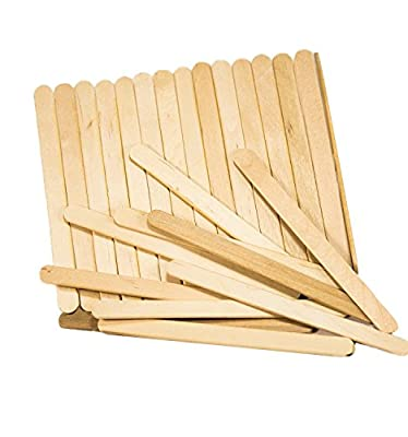 "Perfect Stix Wooden Craft/Ice Cream Sticks, 4-1/2"" Length"