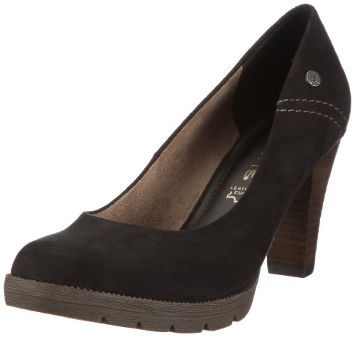black Womens Black Tamaris 001 Schwarz Pumps gWIYpP
