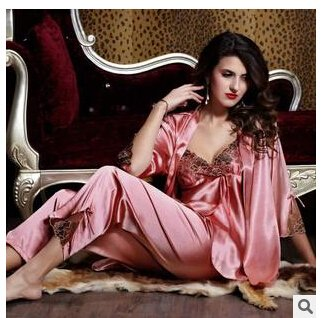 962d8aa5d Image Unavailable. Image not available for. Colour: MH-RITA 2016 New Spring  Autumn Elegant Womens Silk Satin ...