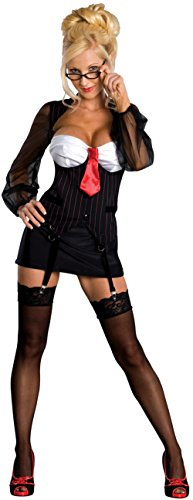 Women Haloween Costumes (Secret Wishes Women's Overtime Adult Costume, Multicolor, X-Small)