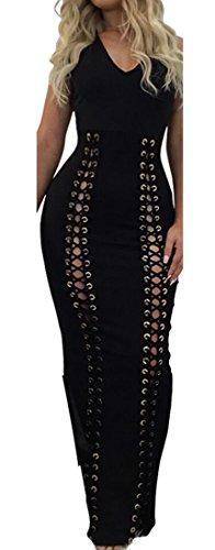 Strapless Cotton Eyelet Dress - 3