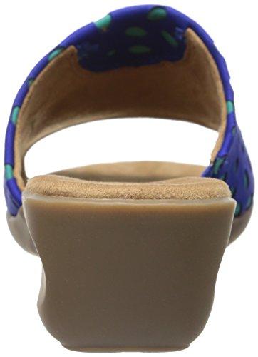Aerosoler Kvinna Badminton Sandal Blå Combo