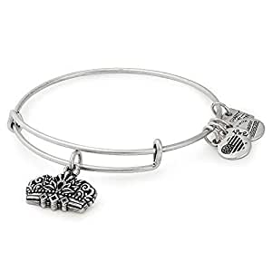 Alex and Ani Women's Charity by Design Queens Crown IV Bangle Rafaelian Silver One Size