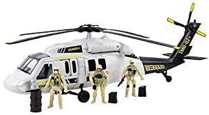 """Black Hawk Helicopter Playset (24""""Long)"""