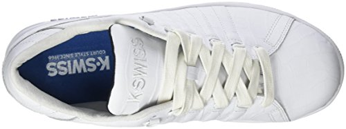 Lozan K Bianco Basse da Swiss III Scarpe 102 White Croco Ginnastica TT Uomo Black 4wA6xBf