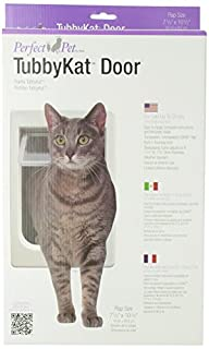 "Perfect Pet Tubby Kat Cat Pet Door with 4 Way Lock, 7.5"" x 10.5"" Unbreakable LEXAN Flap (B000I68IGO) | Amazon price tracker / tracking, Amazon price history charts, Amazon price watches, Amazon price drop alerts"