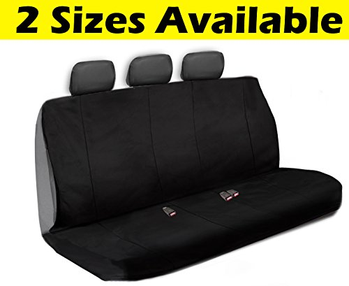 - Big Ant Back Seat Covers, Oxford Cloth Back Car Seat Covers Waterproof Breathable Back Cover Fit for Most Car, SUV, Vehicle Supplies (Black)