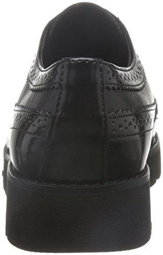 Geox Dames D Blenda C Brogue Lace Up Brogues Zwart (black C9999)
