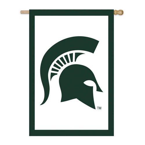 Michigan State 44x28 Applique Banner - 4