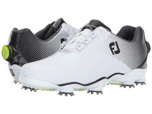 FootJoy(フットジョイ) メンズ 男性用 シューズ 靴 スニーカー 運動靴 DNA Helix - White/Black Bicycle Toe [並行輸入品] 11.5 W  B07BMS9YRB