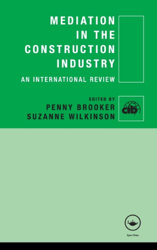 Mediation in the Construction Industry: An International Review (CIB)